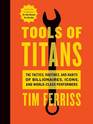 cover image of Tools of Titans